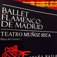 Photo taken at Teatro Muñoz Seca by Helio C. on 11/6/2013