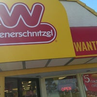 Photo taken at Wienerschnitzel by Andrew S. on 6/14/2014