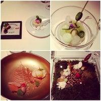 Das Foto wurde bei Ciel Bleu Restaurant von Polina🎀 P. am 10/15/2012 aufgenommen