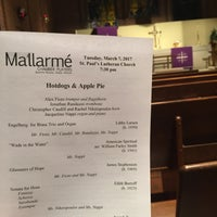 Photo taken at St. Paul's Lutheran Church by AndyHat on 3/8/2017