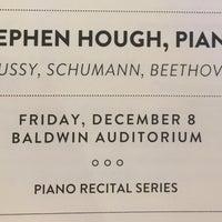 Photo taken at Baldwin Auditorium by AndyHat on 12/9/2017