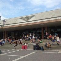 Photo taken at Venezia Santa Lucia Railway Station (XVQ) by Gianluca G. on 7/21/2013