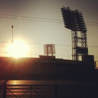 Photo taken at Стадион «Петровский» by Юля on 7/6/2013