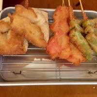 Photo taken at 串揚げ あげあげ 麻布十番 by Оксана on 2/6/2017