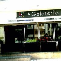 Photo taken at La Gelateria Iberia by Jihane B. on 9/1/2013