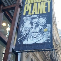 Photo taken at Forbidden Planet by Ken P. on 5/4/2013