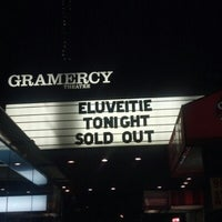 Photo taken at Gramercy Theatre by Ken P. on 12/21/2012