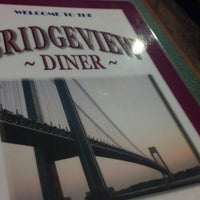 Photo taken at The Bridgeview Diner by Ken P. on 1/20/2013
