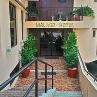Photo taken at Malaco Hotel by Bernard Joseph R. on 5/28/2015