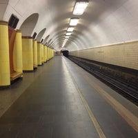 Photo taken at metro Rizhskaya by Tomka on 5/23/2013