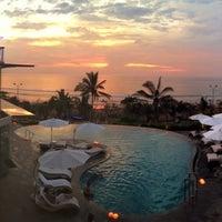 Photo taken at Sheraton Bali Kuta Resort by Buddha Liao on 2/2/2013