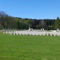 Photo taken at Durnbach War Cemetary by Joelinho M. on 5/5/2016