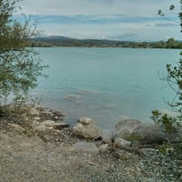 Photo taken at Lac de Peyrolles by Mathieu C. on 7/13/2014