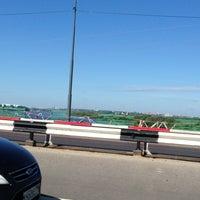 Photo taken at Мост через Оку на трассе М5 by An S. on 7/17/2013