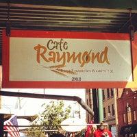Photo taken at Café Raymond by Brandon T. on 10/4/2012