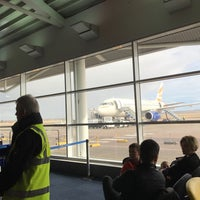 Photo taken at Gate 2 by Gordon P. on 2/18/2017