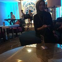 Photo taken at Mulia Lounge Grand Zuri Palembang by Ivo C. on 3/30/2016
