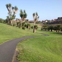 Photo taken at Salobre Golf by Dhuyvetter J. on 8/12/2014