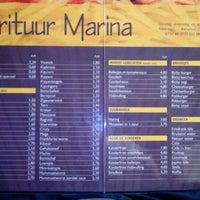 Photo taken at Frituur Marina by Bartholomeo S. on 11/10/2012