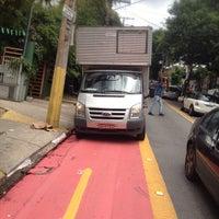 Photo taken at Rua João Moura by Marcio C. on 12/11/2014