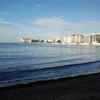Photo taken at Playa El Salaret / Los Locos by Kris . on 4/9/2013