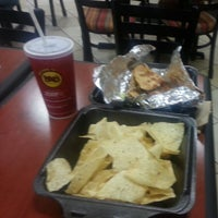 Photo taken at Moe's Southwest Grill by Thomas M. on 10/13/2013
