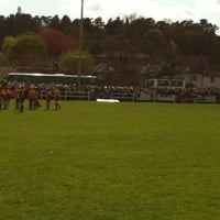 Photo taken at Henley Hawks Rugby Club by Andy W. on 5/4/2013