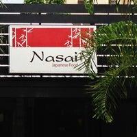 Foto tirada no(a) Nasai Japanese Food por Waldemar C. em 2/19/2013