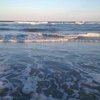 Photo taken at Atlantic ocean Tybee Island by Erin !. on 5/27/2013