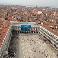 Photo taken at Saint Mark's Square by Viviane L. on 4/30/2013