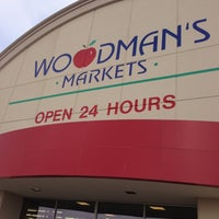 Photo taken at Woodman's Food Market by Mike S. on 11/23/2012