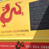 Photo taken at Southern Gourmasian Food Truck by Elena P. on 4/11/2014