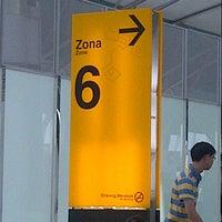 Photo taken at Bandara Soetha by Roy S. on 8/21/2014