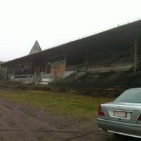 Photo taken at Hippodrome de Boitsfort by Peggy🐱 M. on 11/24/2012