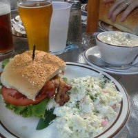 Photo taken at Halibut Point Restaurant & Pub by Jini B. on 7/8/2014