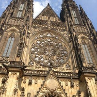 Photo taken at Prague Castle by Zach T. on 7/25/2013