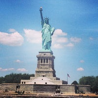 Photo taken at Statue of Liberty by Jocelyn on 6/23/2013
