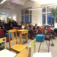 Photo taken at Hub Helsinki by Toni N. on 11/1/2012
