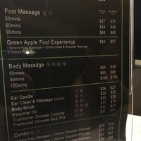 Photo taken at Green Apple Foot Spa by Cheen T. on 2/6/2017