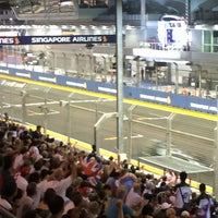 Photo taken at Pit Straight Club Suite Level by Cheen T. on 9/21/2014