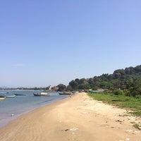 Photo taken at Devbagh Beach by Nithin J. on 11/23/2013