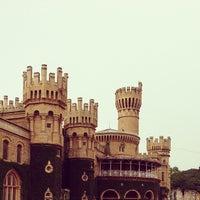 Photo taken at Bangalore Palace by Nithin J. on 8/11/2013
