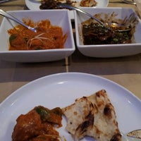 Photo taken at Marigold Indian Bistro by Shayna on 9/12/2013