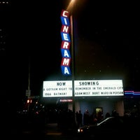 Photo taken at Cinerama by Uptown S. on 3/1/2013