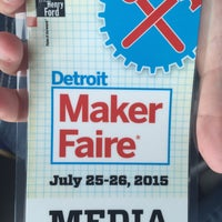 Photo taken at The Maker Faire - Detroit by Breanna H. on 7/26/2015