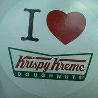 Photo taken at Krispy Kreme Doughnuts by Jamie T. on 6/7/2013