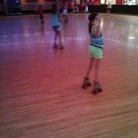 Photo taken at Rivergate Skate Center by Lori Y. on 8/24/2013