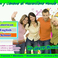 Photo taken at American English School by American English S. on 7/4/2013