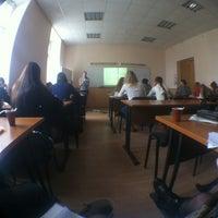Photo taken at 301 Кабинет Соцфак by Anastasia S. on 10/29/2012