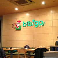 Photo taken at Bibigo by Wooyoung H. on 12/23/2012